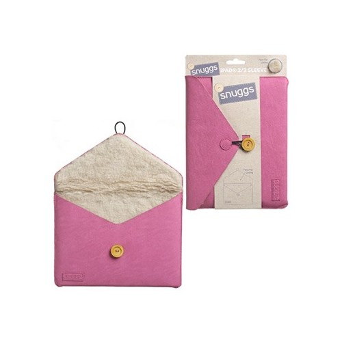 Custodia Snuggs Sleeve per iPad 2/3/4 pink  e similari (24,1x18,5 cm)