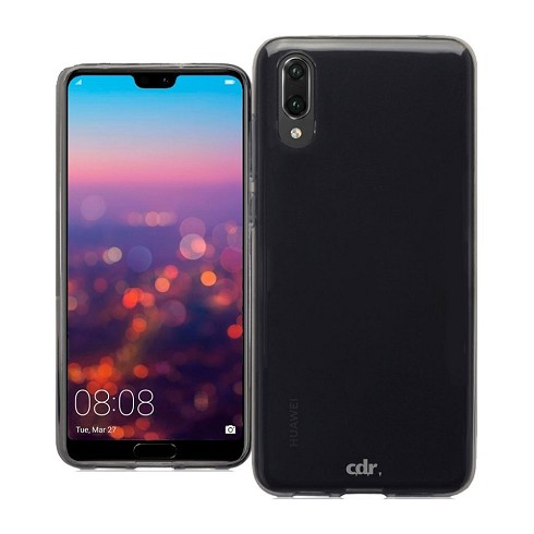 Custodia TPU Slimmy Case per Huawei P20 black